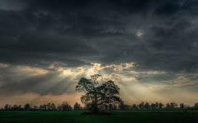 Storm over danmark